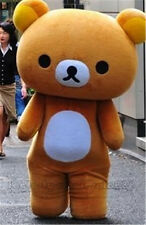 Japanese San-X Rilakkuma Brown Bear Mascot Costumes Adult party dress Character