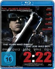 BLU RAY - 2:22 - THE PLAN WAR SIMPLY - THE JOB WAR IT NOT - NEW/BOXED