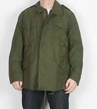 "M65 US Army Style Field Jacket Medium Regular 38'' 40"" 42"" Green (23O)"