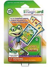 LeapFrog Letter Factory Adventures Imagicard Learning Game