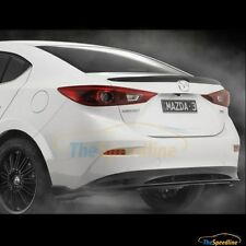 14 15 16 Mazda3 4D Sedan Lip Duck Tail Rear Trunk Spoiler Mazda 3 BM 2014 2015