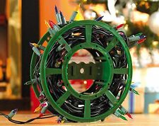 Christmas Tree Lights Storage Wheel Keep Wires Cord Untangled Xmas Decorations