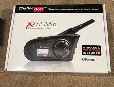 NEW Chatterbox X2 SLIM-P Motorcycle Bluetooth Intercom WIRELESS PTT Kit