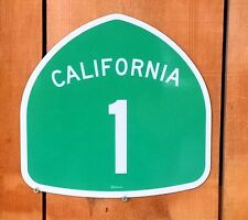California Highway 1 PCH Interstate Route Sign