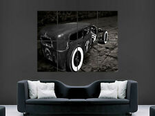 FORD 1929 CAR  HOT ROD ROADSTER CLASSIC USA WALL POSTER ART PICTURE PRINT LARGE