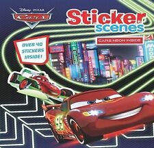 Disney Pixar Cars Sticker Activity Book - includes over 40 Stickers