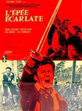 Affiche 60x80cm L'ÉPÉE ÉCARLATE /THE SCARLET BLADE 1964 Gilling - Oliver Reed