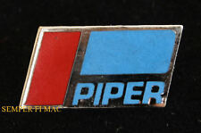 PIPER LOGO SEAL AIRPLANE LAPEL HAT PIN FAA CUB PILOT AIRCREW GIFT WING SOLO WOW