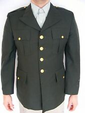US Military Army Enlisted Men's Uniform Coat Jacket Green Size 42 R EUC!
