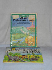 Read About Prehistoric Animals & Fun Facts Prehistoric Times Dinosaur Books