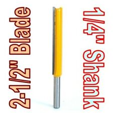 "1 pc 1/4"" SH 2-1/2"" Extra Long Straight Router Bit  sct-888"
