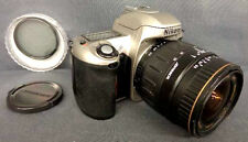 28-80mm 3.5-4.6 Lens  On (almost)  FREE  Experienced Nikon N65 Film Camera