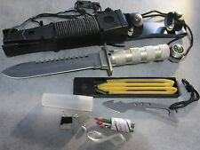 """Couteau de chasse  """"COMBAT KING-II"""" multifonctions avec étui"""