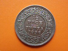 George V King Emperor 1/2 Pice India 1936 Bronze Coin