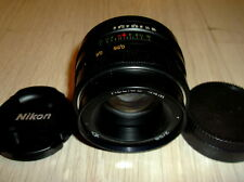 HELIOS 44M 2/58 mm f/2 RUSSIAN USSR LENS M42 NIKON INFINITY IS ! KING BOKEH