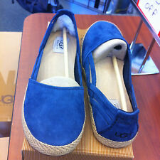 Women's Ugg Cicily shoe color Navy size US 8.5 EU 39.5