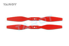 1 Pair Tarot 8 inch CW CCW Propeller Red TL2950 for Multi-axis Helicopter F17387