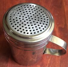 DREDGE W/ Handle Salt Pepper Spice Sugar Shaker Dispenser Heavy Duty Stainless