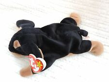 New Ty Beanie Babies Doby the Doberman Pincher Dog Retired!