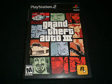 Grand Theft Auto III (PlayStation 2) Complete with Map 3
