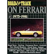 ROAD & TRACK su Ferrari 1975-1981 BOOK LIBRO