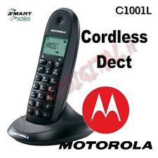 TELEFONO CORDLESS DECT MOTOROLA C1001L GAP RUBRICA 50 CONTATTI FUNZIONE SVEGLIA