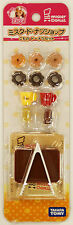 Takara Tomy Licca Doll Mister Donut Shop Goods  doll not included  (829539)
