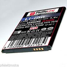 Batteria per Samsung Galaxy ACE 3 S7275 e Star Pro 2300mAh a Litio tipo B105be