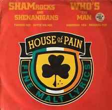 """HOUSE OF PAIN - Shamrocks And Shenanigans/Who's The Man (12"""") (G/F+)"""