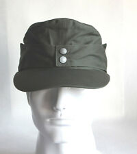 WWII German Army Elite EM M43 Summer Panzer Field Cotton Cap Hat Green
