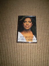 THE BEST OF CARLY SIMON,CASSETTE TAPE IN STUNNING CONDITION