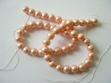 South sea shell pearl pink round beads10mm