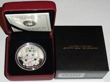 Canada 20 Dollars 1 Oz Silber 2011 PP Schneekristall Weihnachtsbaum