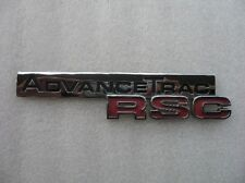 2006 FORD EXPLORER ADVANCETRAC RSC EMBLEM LOGO BADGE SIGN SYMBOL 06 07 08 09 10