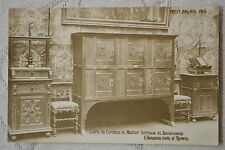 """CPA """" PETIT PALAIS 1915 - Cuirs de Cordoue et Mobilier Gotique et Renaissance"""