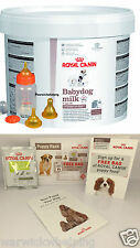 ROYAL CANIN 2KG BABY DOG PUPPY MILK KIT with FEEDING BOTTLE  & FREE PUPPY PACK