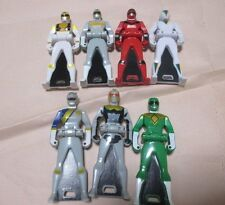 Power Ranger Gashapon Ranger Key :  Gokai Silver Key SET