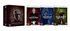 Hellraiser Trilogy (Blu-Ray:) Box Set Collection 1, 2 & 3 (Arrow Video Edition)