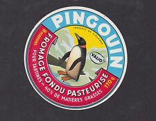 Ancienne  étiquette Fromage Finlande  BN12522 Pingouin 2