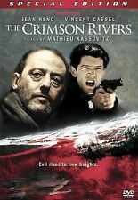 ~ THE CRIMSON RIVERS ~ DVD 2001 DRAMA JEAN RENO BUY5+ MIXD GET FREE LOT SHIPPING