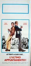 PERSUADERS THE MAN IN THE MIDDLE Italian locandina movie poster MOORE CURTIS