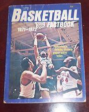Pro Basketball Fact Book 1971-1972