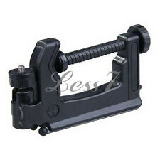Newest Swiveling C-Clamp Tripod Stand Holder for Camera/Camcorder Black UR