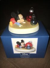 Precious Moments Disney Holiday Reflections Mickey Mouse Figurine #151707