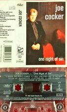 Joe Cocker One Night Of Sin Mc Tape Cassette