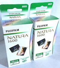 6 Rolls FUJIFILM Fuji NATURA 1600 35mm Color film 36 Exps Made in Japan FRESH