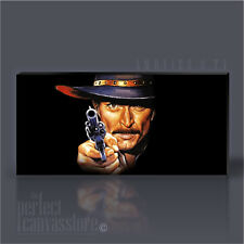 LEE VAN CLEEF CLASSIC ICONIC CANVAS ART PRINT - Art Williams UPGRADE to 120x56cm