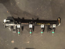 FORD FIESTA 1.25 INJECTION RAIL AND GREEN INJECTORS 2002-2008
