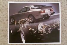 1986 Porsche 944 Coupe Showroom Advertising Sales Poster RARE!! Small Size L@@K