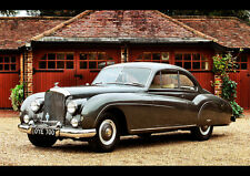 1955 BENTLEY R TYPE COUPE NEW A1 CANVAS GICLEE ART PRINT POSTER FRAMED